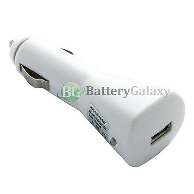 100X NEW USB Car Charger for Android Phone Samsung Galaxy S8 / S8 Plus /Note 8