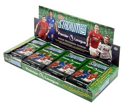 2016 Topps Stadium Club Premier League Soccer Football Hobby Box - New & Sealed
