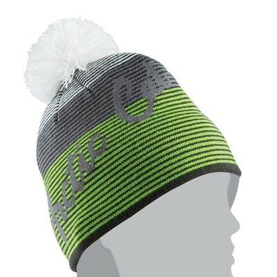 fbc3d728203 Arctic Cat Women s Stripe with Pom Winter Beanie Hat - Lime Green - 5263-038