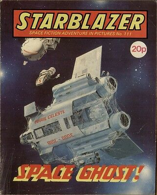 Space Ghost,starblazer Space Fiction Adventure Pictures,no.111,1983