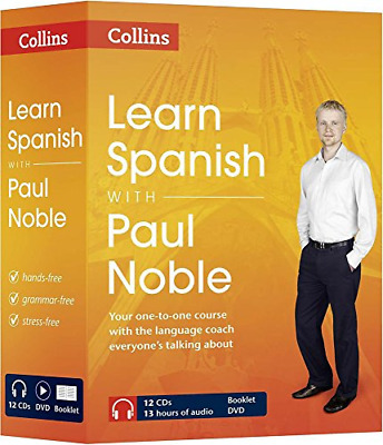 Learn Spanish with Paul Noble – Complete Course: Spanish made easy with your per