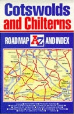 A-Z Road Map of Great Britain: Cotswo..., Geographers' A-Z Map Sheet map, folded