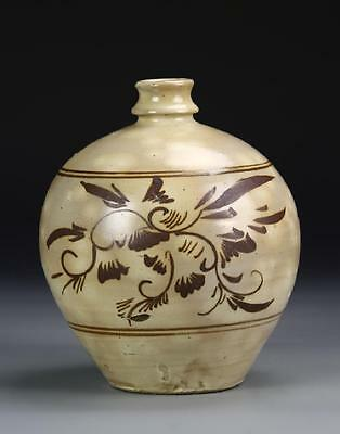 An Excellent Rare Chinese Song Dynasty Cizhou Yao Vase.