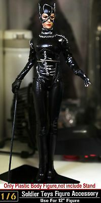 """KUMIK 1/6 Scale Catwoman Selina Kyle In Batman Action Figure 12"""" Model w/Stand"""