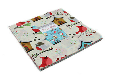 Patchwork/quilting Fabric Moda - Layer Cake - Jingle Birds