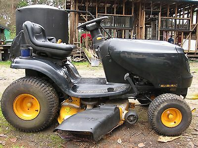 POULAN PRO 2009 42 inch was a 22 HP Intek VTwin ride on MOWER Hydro