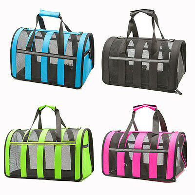 Small Dog Travel Bag Portable Pet Carrier Purse Breathable Puppy Dog Handbag S-L
