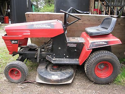 ROVER RANCHER Heel/Toe 38 inch cut ..was 12.5 HP engine