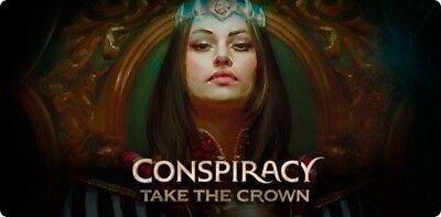 Mtg, Near COMPLETE Conspiracy: Take The Crown Set. No Mythic Rares 209/221