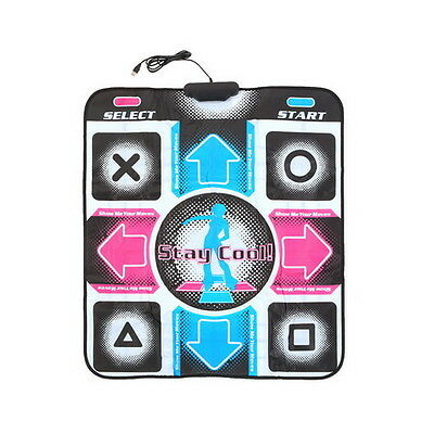 Non-Slip Dancing Step Dance Mat Pad Pads Dancer Blanket to PC with USB UK