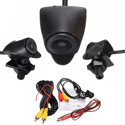 170° Wide CCD Car Front View Camera Logo Embedded Waterproof Cam Kit For Toyota