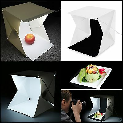 Photo Box Tent Foldable Portable Light Photography Kit Set Cube Lightbox