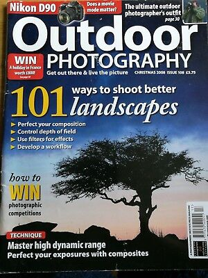 Outdoor photography Christmas 2008 issue 108 magasine