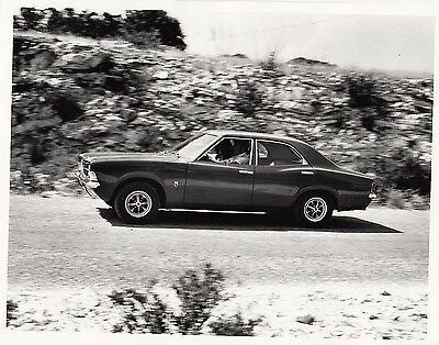 Ford Cortina Gt Four Door Saloon, Circa 1970/1 Model, Photograph.