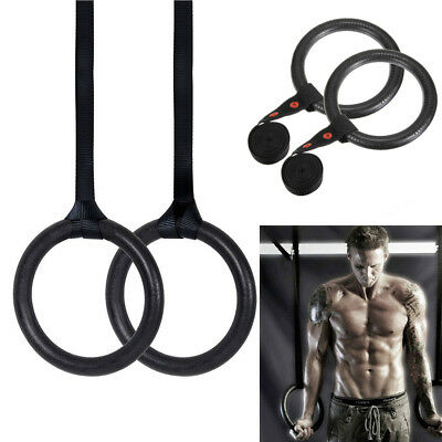 Pair of Shoulder Strength Training  Olympic Rings Gym Ring Gymnastics Crossfit