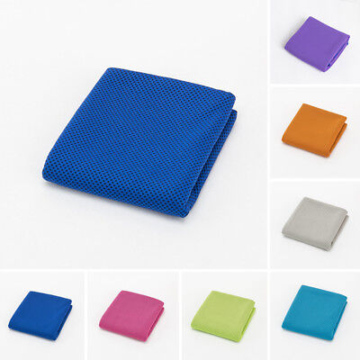 30*100cm Reusable Ice Cold Soft Sport Towel for Cycling Jogging Golf Hiking YOGA