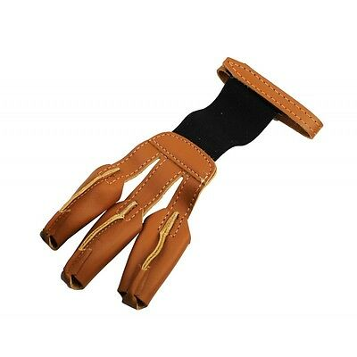 Fred Bear Archery Master Shooting Leather Glove - Ambidextrous - S M L XL