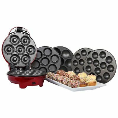 Gourmet Gadgetry 1950s Style Retro Diner 3 in 1 Sweet Snack Maker W/ Baking Pads