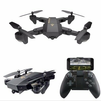 Foldable RC Quadcopter Drone WiFi FPV 120° Wide Angle Lens Camera Helicopter