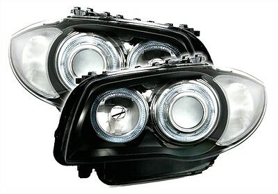 2 Phare Angel Eyes Bmw Serie 1 E81 E87 Sport M M1 Pack Grand Feux Avant M2