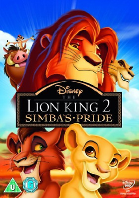 The Lion King 2 - Simba`S Pride  DVD NEW