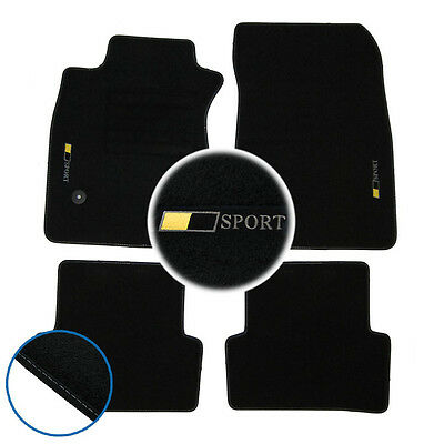 4 tapis de sol textile renault sport clio iv 4 2012 2018 rs original 8201657950 eur 109 95. Black Bedroom Furniture Sets. Home Design Ideas