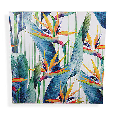 Birds Of Paradise Outdoor Canvas Print UV Protected 60cm | Tropical Beach Oasis