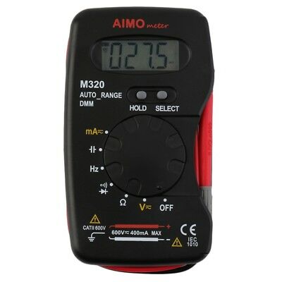 Pocket Digital Multimeter DMM Frequency Capacitance Tester Auto Range Tester FG