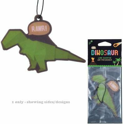 Dinosaur Lime RAWR Air Freshener Car Home Gift Boys Novelty Fun Green Van Xmas