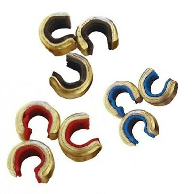 Saunders Brass Nocking Points For Recurve/compound - S / M / L - (Qty 10)
