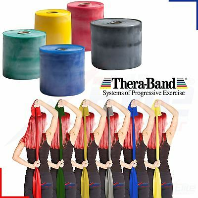 Theraband Resistance Bands Yoga Exercise Fitness Physio Strips Catapult