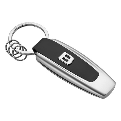 Genuine mercedes benz black faux key ring b66956287 new for Mercedes benz ring