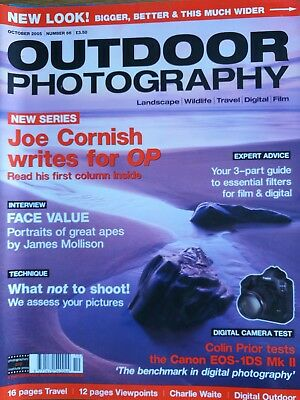 Outdoor photography October 2005 number 66 magazine
