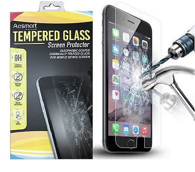 "Real Tempered Glass 9H+ Premium for Apple 4.7"" iPhone 6/6S Film Screen Protector"