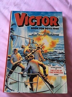 The Victor Book for Boys 1988 ***Unclipped*** MINT Condition