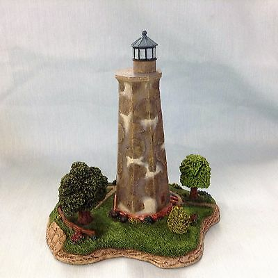 Bald Head NC Lighthouse by Harbour Lights 1995 Old Baldy with COA