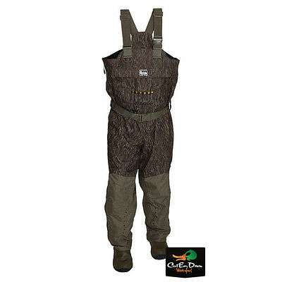 New Banded Redzone Breathable Uninsulated Chest Waders Bottomland Camo Size 11