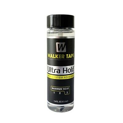 Walker Ultra Hold Adhesive 1.4Oz Lace Wig Toupee Glue With Brush