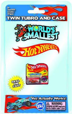 Worlds Smallest Hot Wheels Toy (3 Styles) [Random Color]