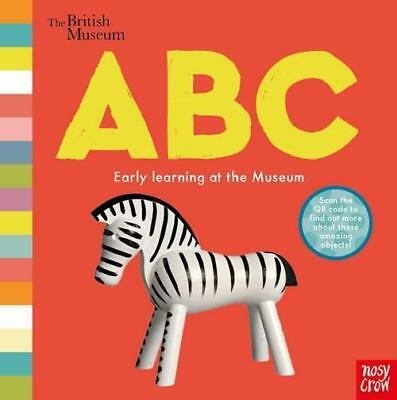 NEW The British Museum ABC By British Museum Board Book Free Shipping