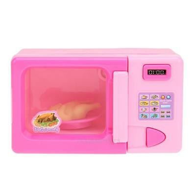 Simulation Kitchen Toys Electric Microwave Oven for Kids Children Play House Toy