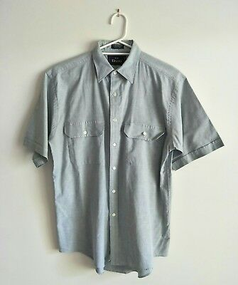 Bisley Short Sleeve Men's Shirt Size M Button Front