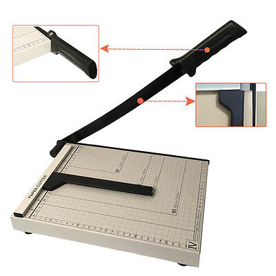 """Adjustbale Heavy Duty Metal base Rotary Paper Cutter/Photos Trimmer 12"""" A4 Paper"""