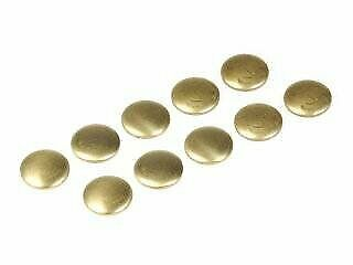 27MM FREEZE CORE WELCH PLUG SET BRASS CUP PACK OF 10 ENGINE BLOCK REBUILD