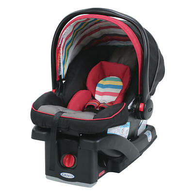NEW Graco SnugRide 30 LX Click Connect Infant Carseat 1959363 Play Fashion Red