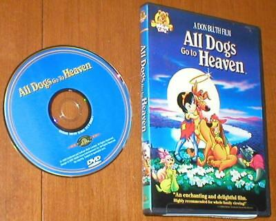 All Dogs Go To Heaven - A Don Bluth Film - DVD from MGM Kids