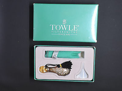 Towle Sterling Silver Perfume Bottle Set In Box Mint