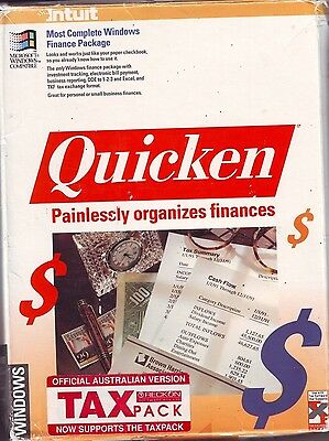 QUICKEN COMPLETE VINTAGE WINDOWS FINANCE PACKAGE Ver. 1.01- COLLECTABLE