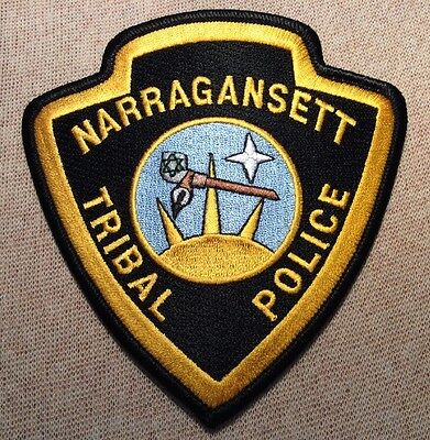RI Narragansett Rhode Island Tribal Police Patch