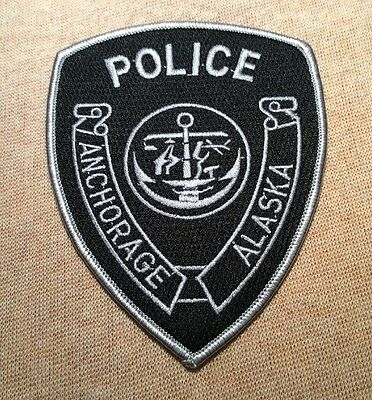 AK Anchorage Alaska Police Patch (Subdued)